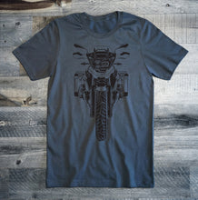 BMW GS Black Motorcycle Tee Shirt