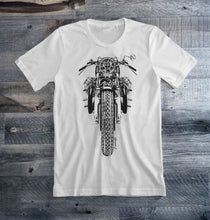 Moto Guzzi Black Motorcycle Tee Shirt