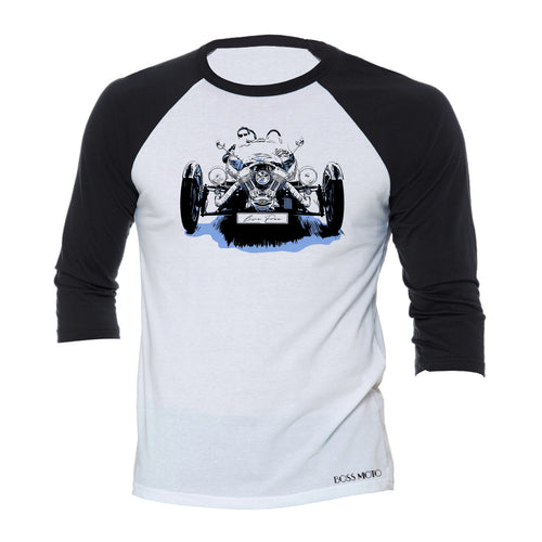 Morgan 3 Wheeler 3/4 Baseball Tee Shirt