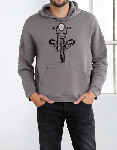 BMW R100 Boxer Motorcycle Cafe Racer Sweatshirt
