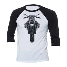 BMW R nine T Cafe Pure Color Motorcycle 3/4 Baseball Tee Shirt
