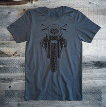 BMW R nine T Racer Black Motorcycle Tee Shirt