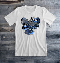 Moto Guzzi White Motorcycle Tee Shirt