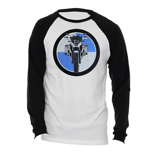 BMW GS Boxer Logo Motorcycle Long Sleeve Tee Shirt