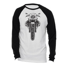 BMW R nine T Cafe Racer Black Motorcycle Long Sleeve Tee Shirt