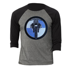 BMW R nine T Cafe Pure Logo Motorcycle 3/4 Baseball Tee Shirt