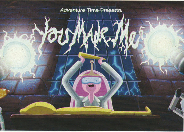 Adventure Time Postcard - You Made Me