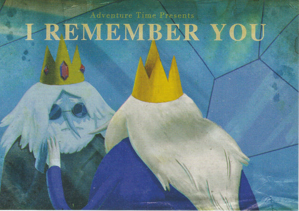 Adventure Time Postcard - Ice King (I Remember You)