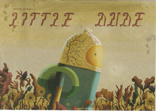 Adventure Time Postcard - Finn (Little Dude)