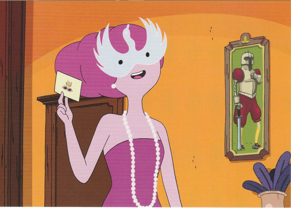 Adventure Time Postcard - Princess Bubblegum