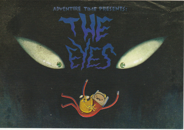 Adventure Time Postcard - The Eyes