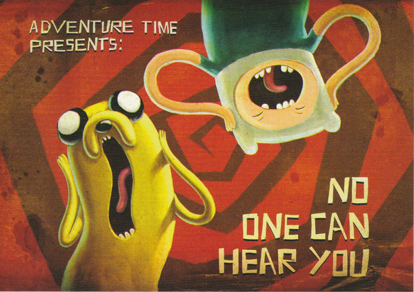 Adventure Time Postcard - The Creeps