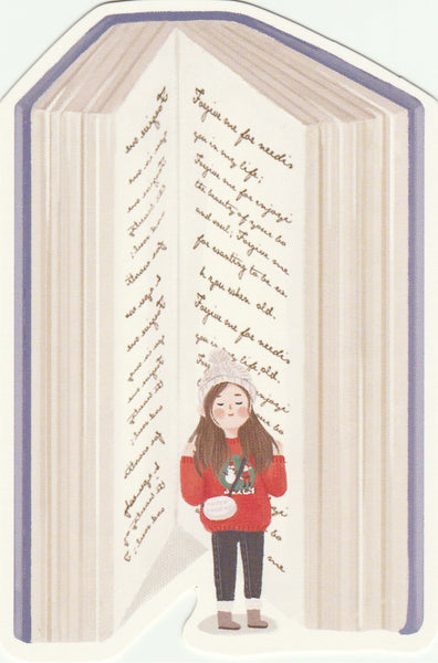 Bookmark Girl Series 11 - Winter