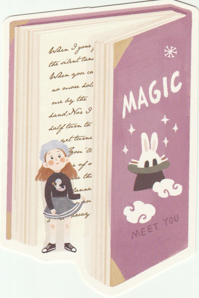 Bookmark Girl Series 01 - Magic Book