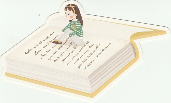 Bookmark Girl Series 29 - End of story