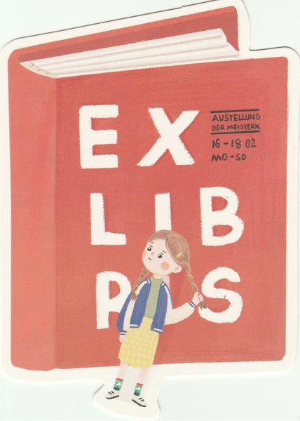 Bookmark Girl Series 02 - Exlibs