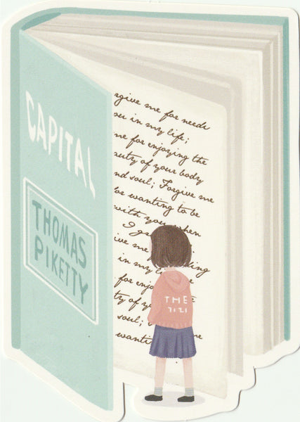 Bookmark Girl Series 05 - Capital
