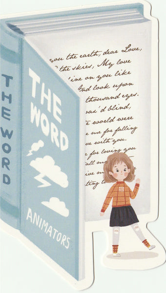 Bookmark Girl Series 07 - The Word Animators