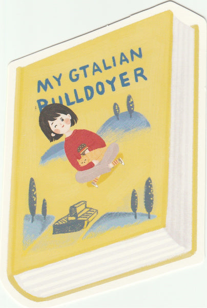 Bookmark Girl Series 09 - My Gatalian Bulldoyer