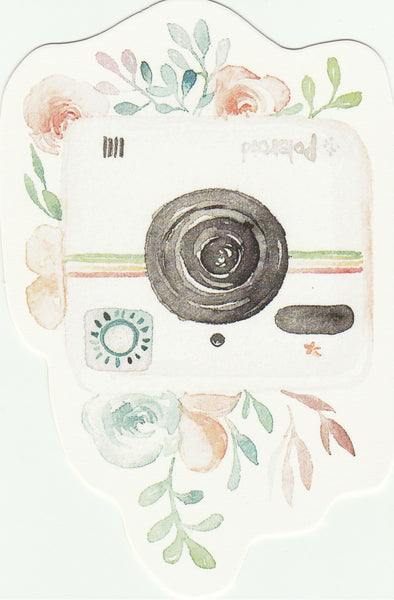 Camera Illustration Collection Mini Postcard (XJ11)