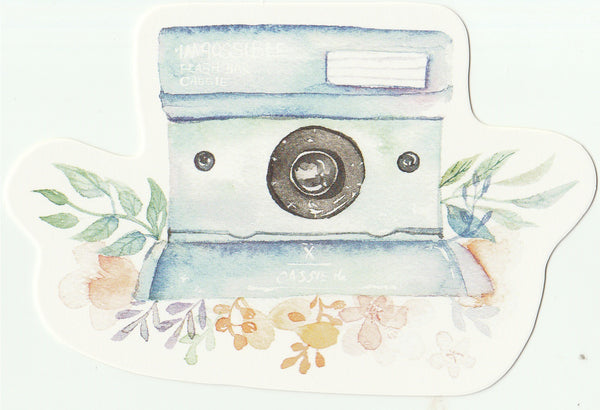 Camera Illustration Collection Mini Postcard (XJ01)