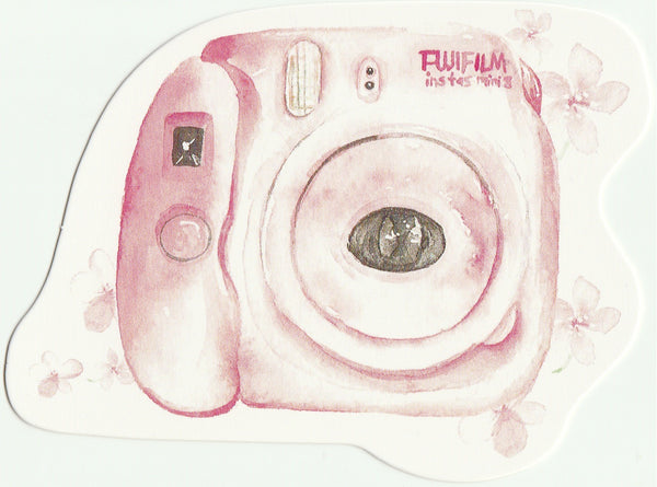 Camera Illustration Collection Mini Postcard (XJ20)