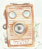Camera Illustration Collection Mini Postcard (XJ25)