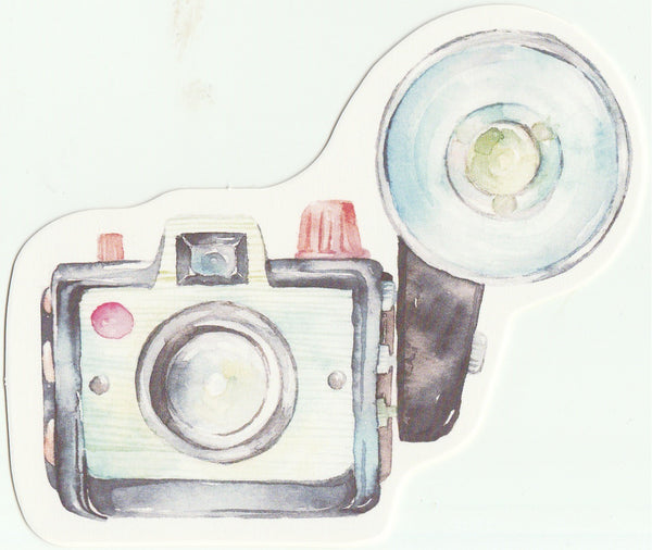 Camera Illustration Collection Mini Postcard (XJ28)
