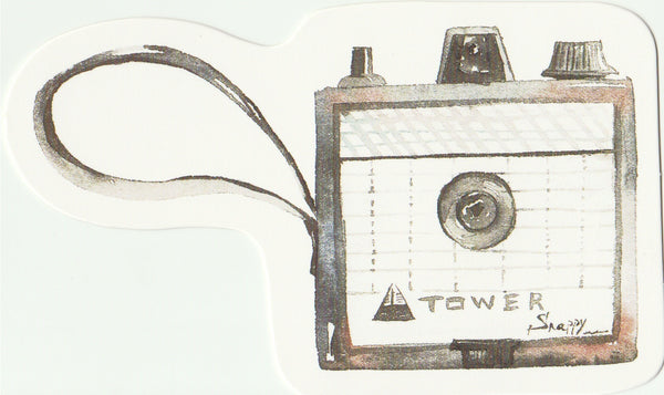 Camera Illustration Collection Mini Postcard (XJ07)
