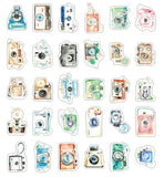 Camera Illustration Collection Mini Postcard (XJ05)