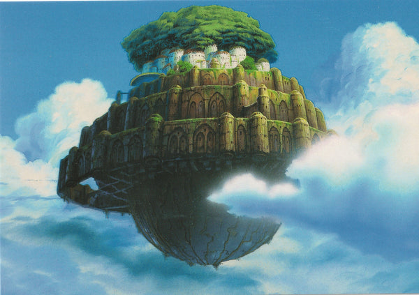 Studio Ghibli - Castle in the Sky Postcard (1/5)