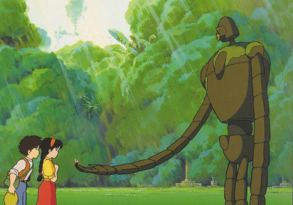 Studio Ghibli - Castle in the Sky Postcard (4/5)