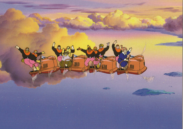 Studio Ghibli - Castle in the Sky Postcard (5/5)