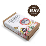 [FREE with US$30 purchase!] Cat Deco 100pcs Sticker & Card Pack