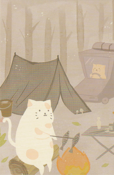 Diary of a Cat - DC08 - Camping in the Woods