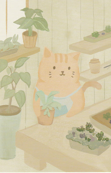 Diary of a Cat - DC01 - Gardening in the Greenhouse