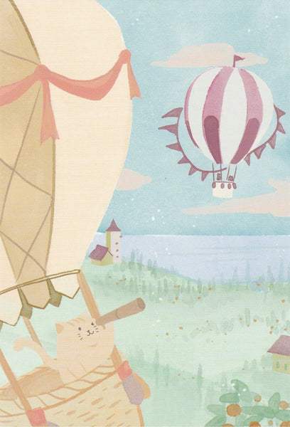Diary of a Cat - DC14 - Hot Air Balloon Holiday