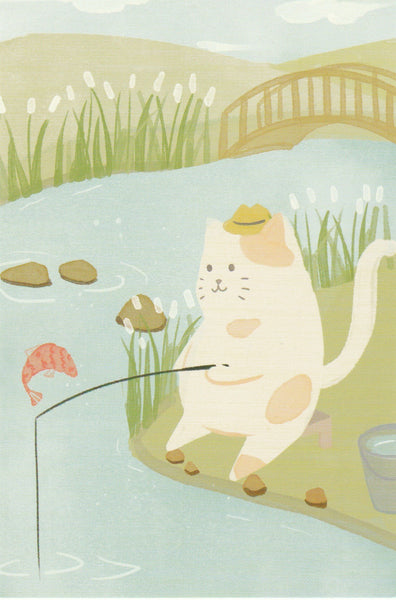 Diary of a Cat - DC17 - Fishing by the Lake