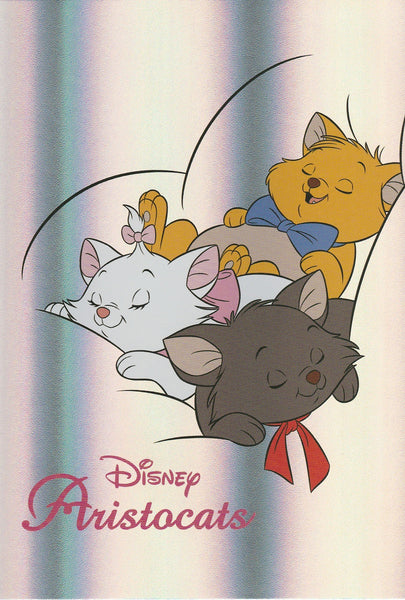 Disney - Aristocats Marie Toulouse Berlioz Shiny Postcard
