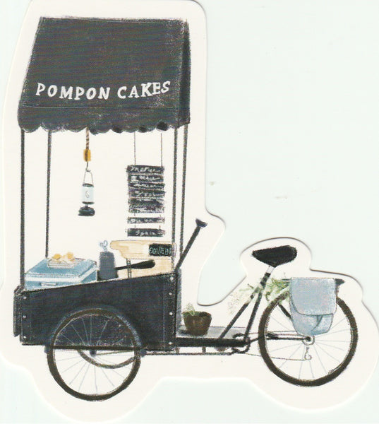 Food Trucks Postcard Collection - Pompon Cakes