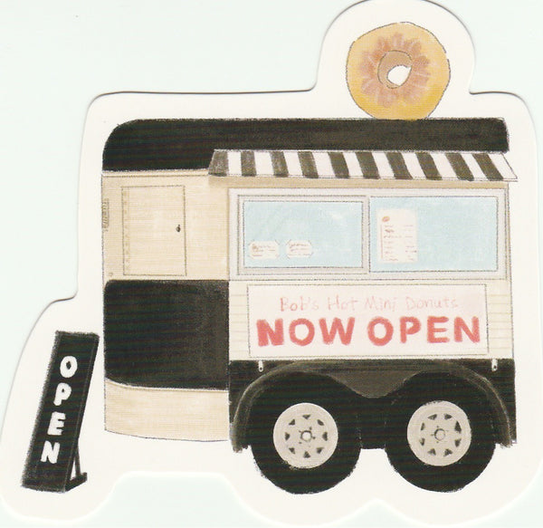 Food Trucks Postcard Collection - Bob's Hot Mini Donuts