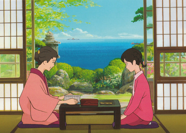 Studio Ghibli - From up on Poppy Hill Postcard (4/4)