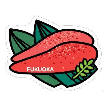 Japan Gotochi (Fukuoka) Postcard - Mentaiko Fish Roe