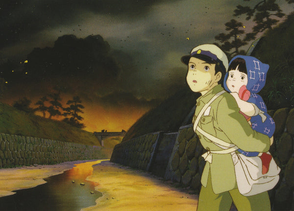 Studio Ghibli - Grave of the Fireflies Postcard (1/4)