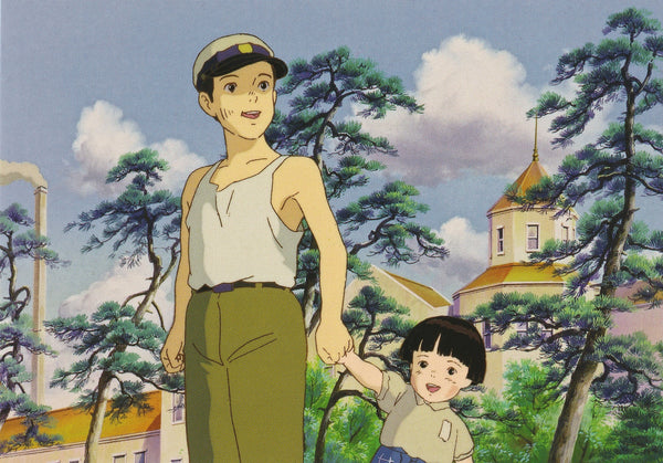 Studio Ghibli - Grave of the Fireflies Postcard (2/4)