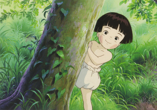 Studio Ghibli - Grave of the Fireflies Postcard  (3/4)