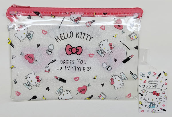 [FREE with USD30 purchase!] Sanrio Hello Kitty Red Ribbon Pouch
