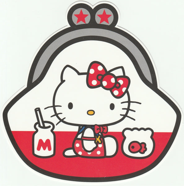 Sanrio Hello Kitty Go Around Postcard (KT06) - Coin Purse