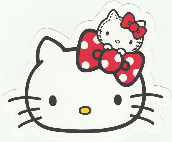 Sanrio Hello Kitty Go Around Postcard (KT07) - Mini Kitty
