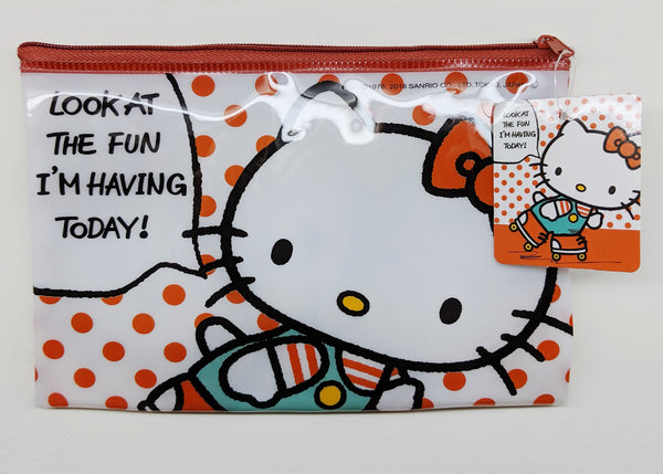 [FREE with USD30 purchase!] Sanrio Hello Kitty Polka Dot Pouch